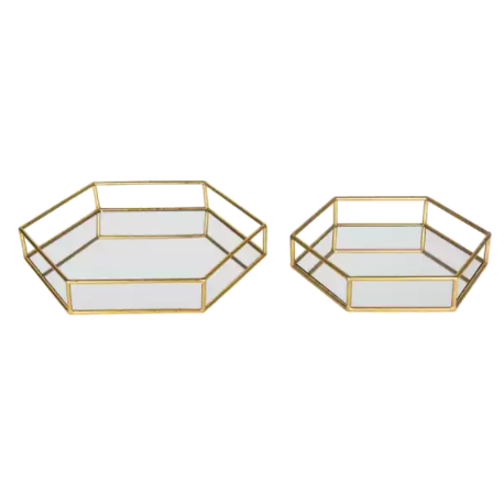 Kate and Laurel Felicia Decorative Mirrored Tray | Cyber Monday Around The Web | Mirror Trays