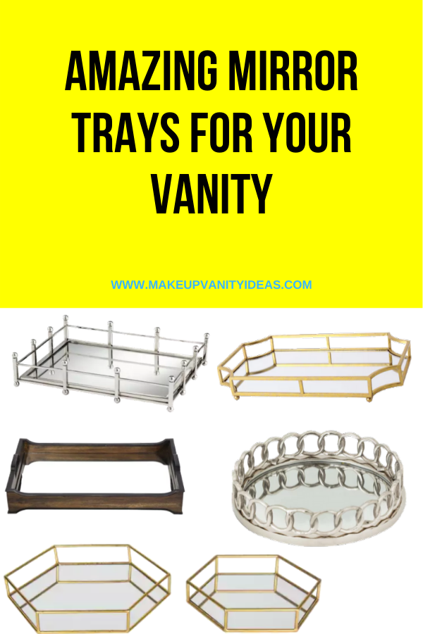 Amazing Makeup Trays for Your Makeup Vanity
