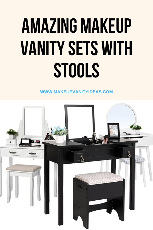 Amazing Makeup Vanity Stools