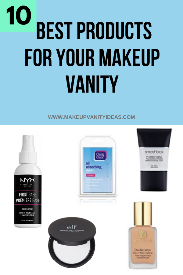 Best Products For Your Makeup Vanity