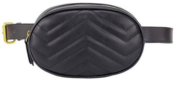 Gucci Marmont Matelassé Belt Bag Dupe