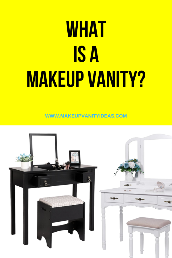 What Is A Makeup Vanity 1 of 2